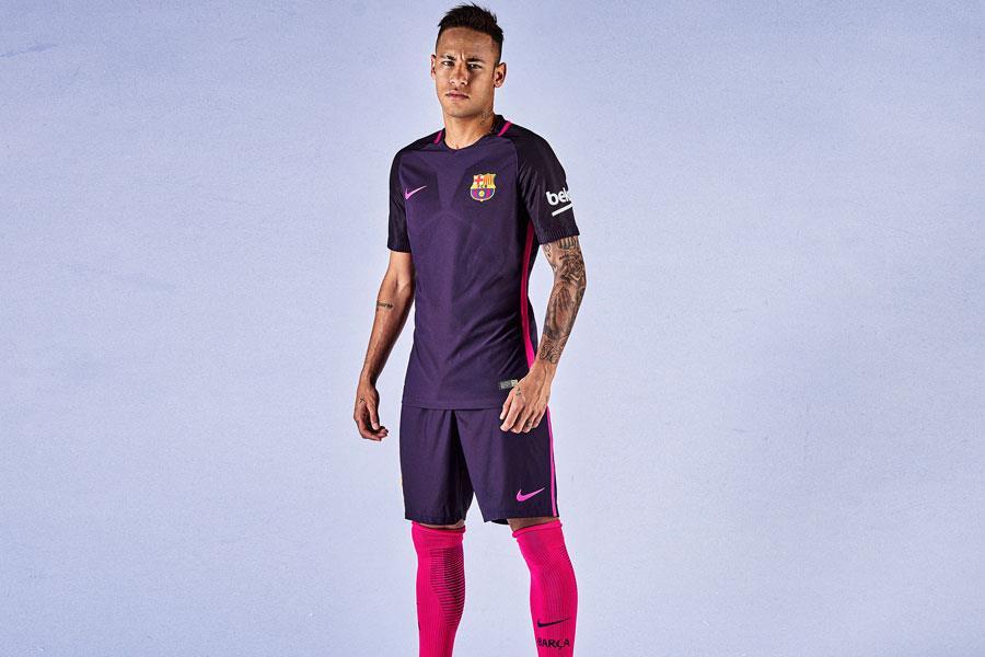 Barcelona away kit 2016-2017 Neymar ()
