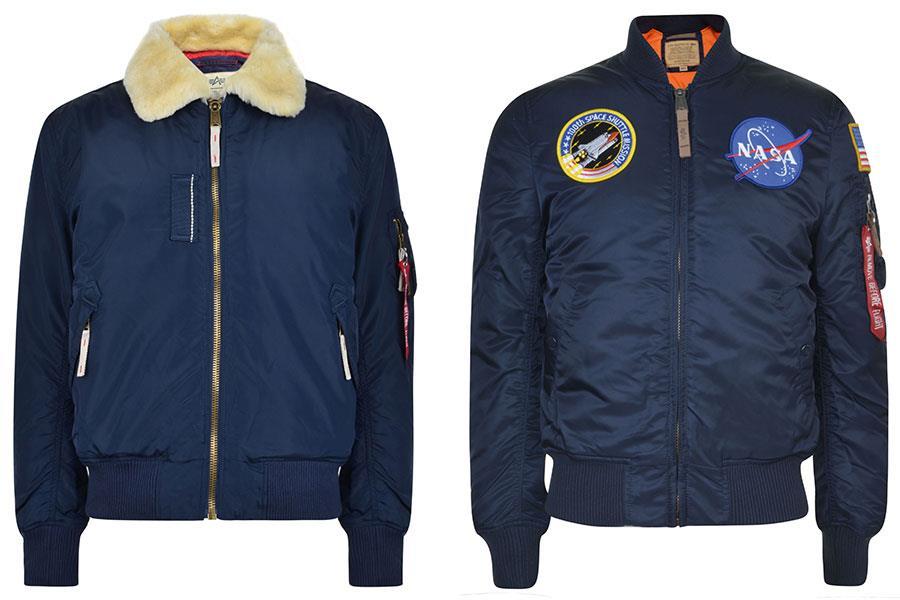 Alpha industries nasa jacket Flannels ()