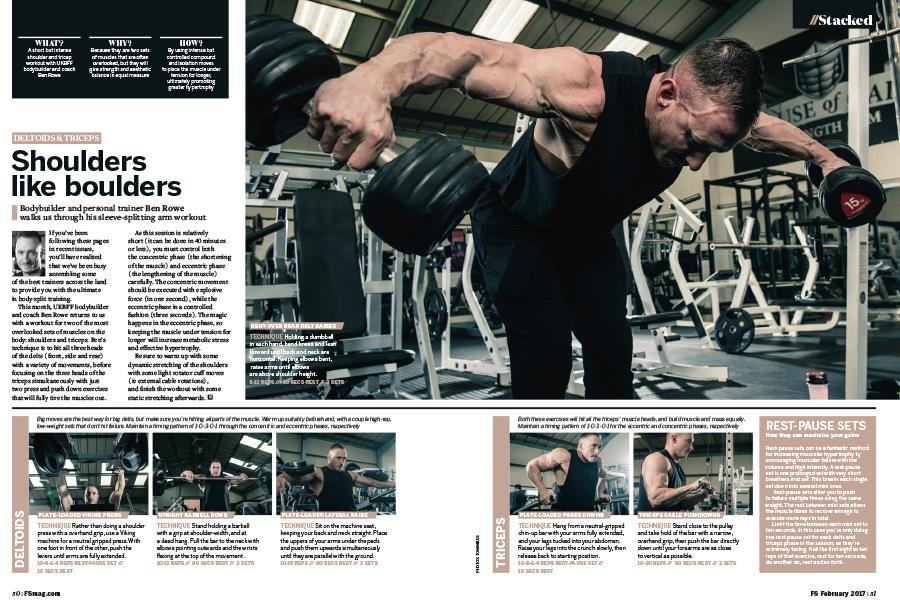 FS magazine march 2017 stacked shoulder workout ()