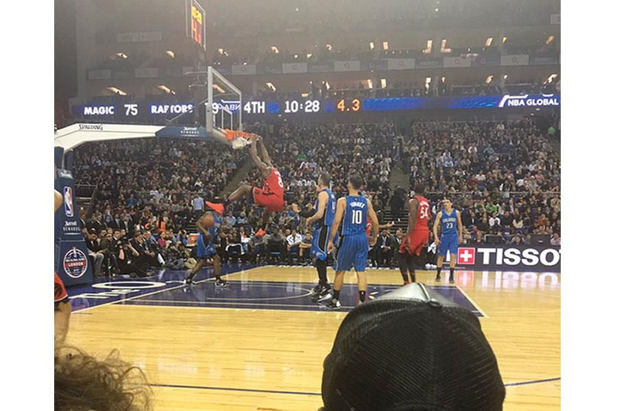 Kurt Zouma basketball tweet (Zouma Twitter)