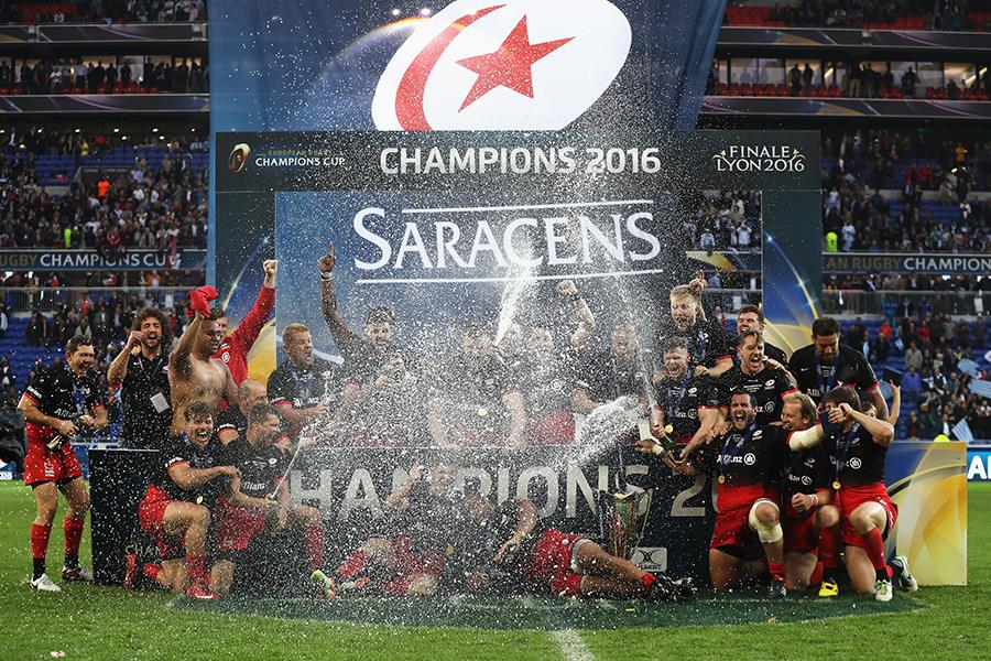 Saracens Champions 2016 (Getty Images)