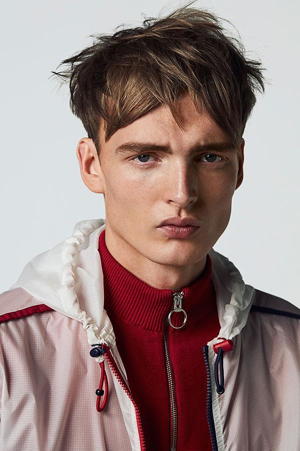 FS Magazine spring outwear fashion shoot. FILA raincoat. Zara jumper  ()