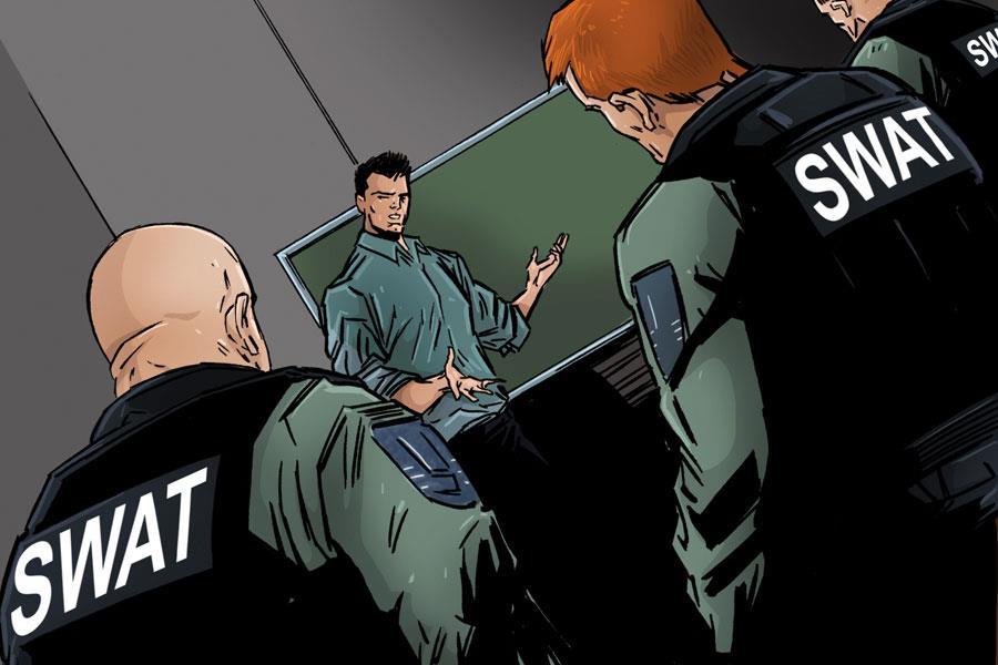 Tony Schiena training SWAT ()