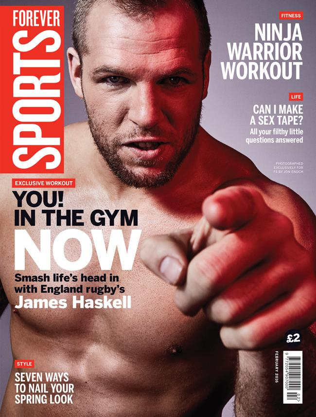 FS magazine cover February 2016 James Haskell ()