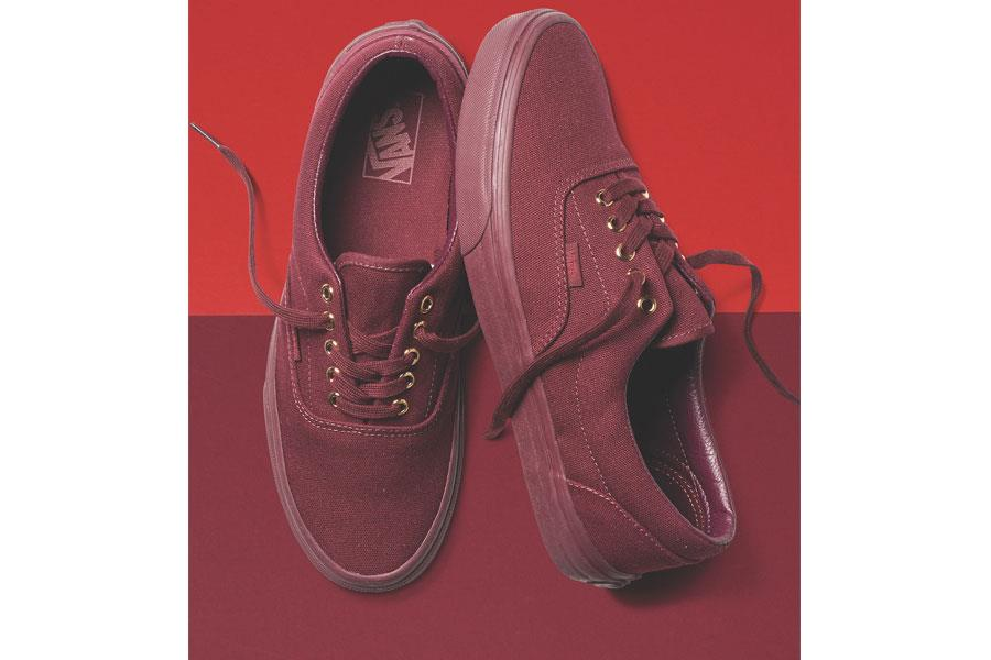 Vans monochromatic collection red ()