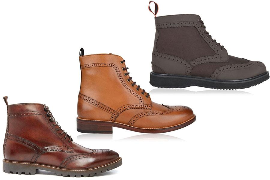 Brogue boots, Base London, Full Circle Flannels, Swims Flannels by FS magazine  ()