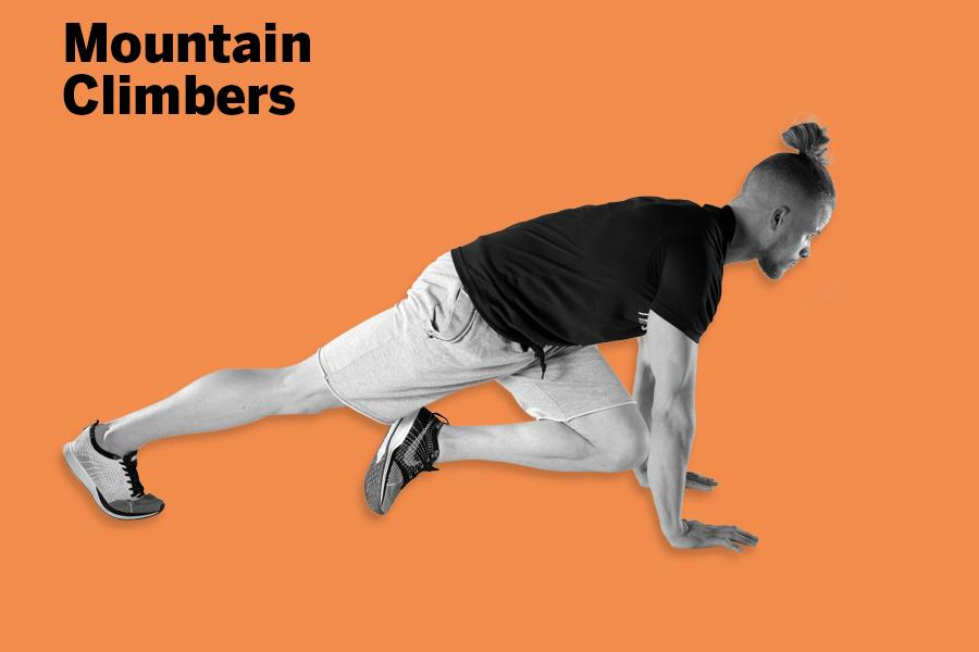Mountain climbers LDNMuscle James Exton  (Malcolm Griffiths)