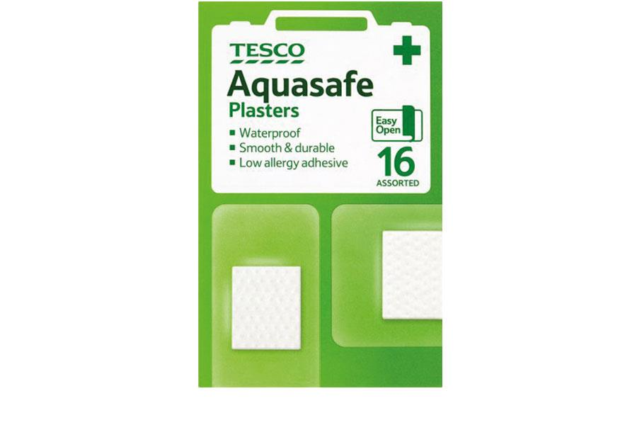 Waterproof plasters Tesco ()
