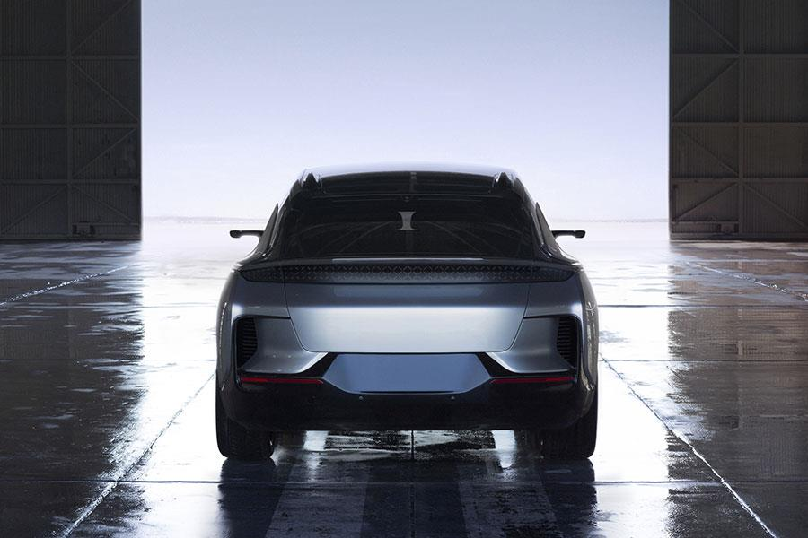 Faraday Future FF 91 rear view ()
