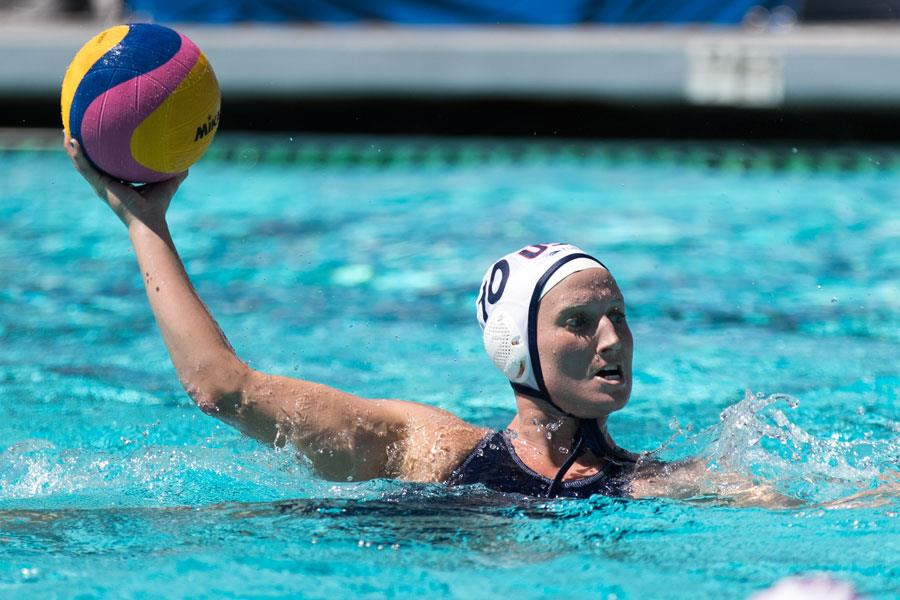 Kaleigh Gilchrist Water Polo throw ()
