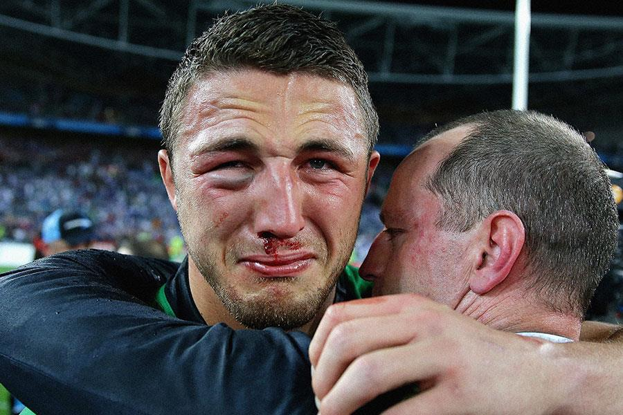 Sam Burgess face NRL Grand Final 2014 ()