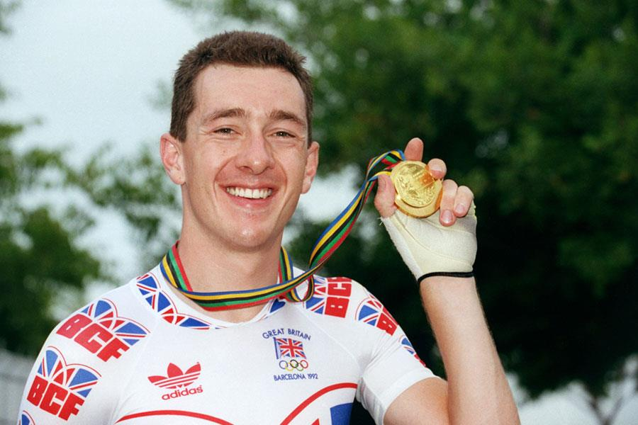 Chris Boardman gold medal pursuit ()
