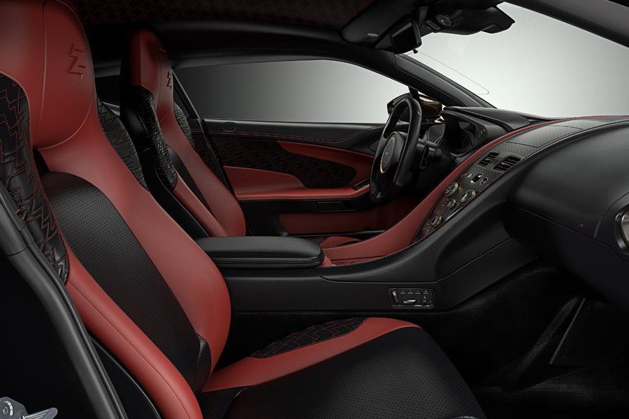 Aston Martin Vanquish Zagato concept interior ()