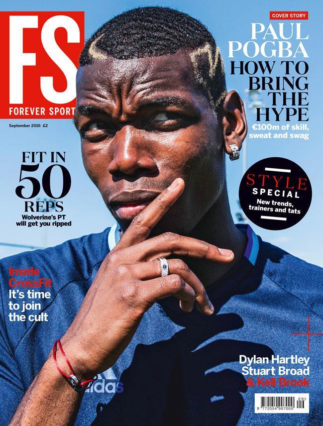 Paul Pogba FS magazine cover ()