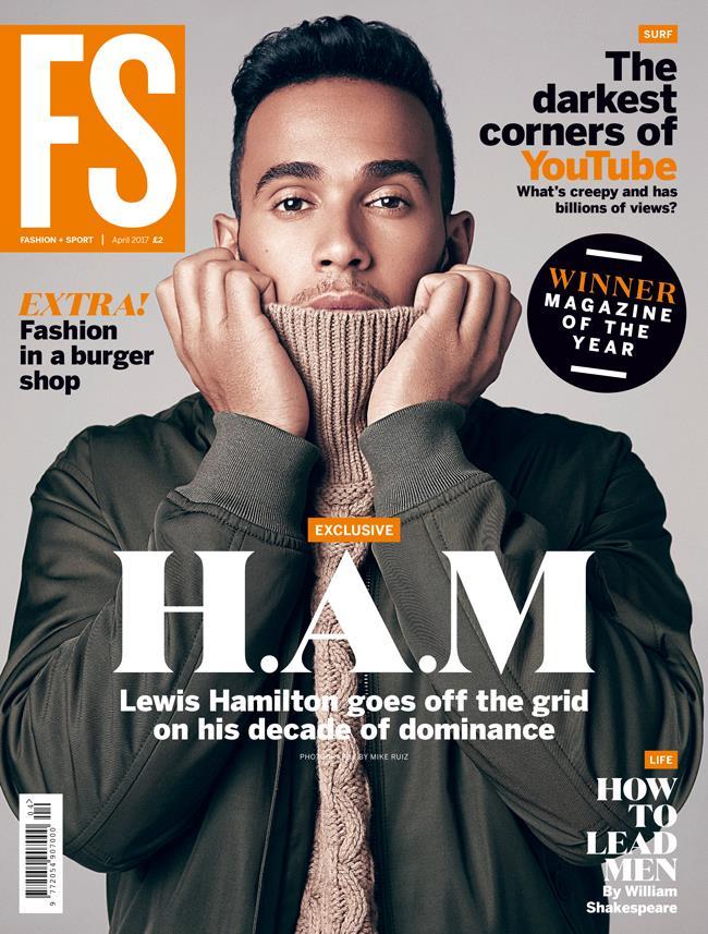 FS magazine cover Lewis Hamilton April 2017 ()
