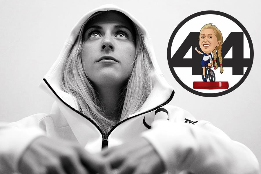 Laura Trott 50 greatest athletes in the world  (Getty Images)
