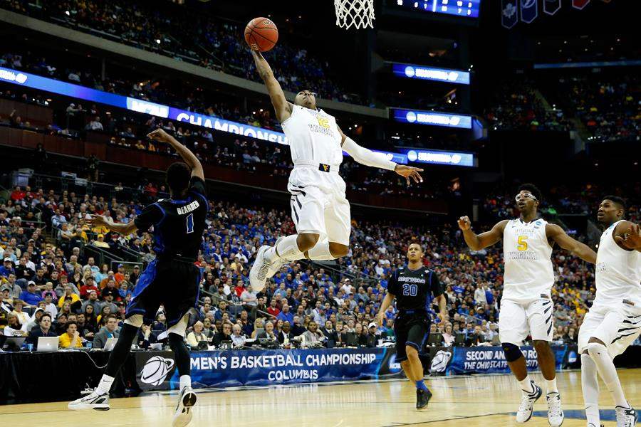 Jevon Carter March Madness (Getty images)