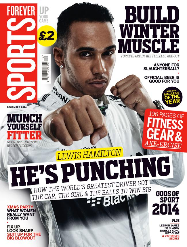 FS magazine cover December 2014 Lewis Hamilton ()