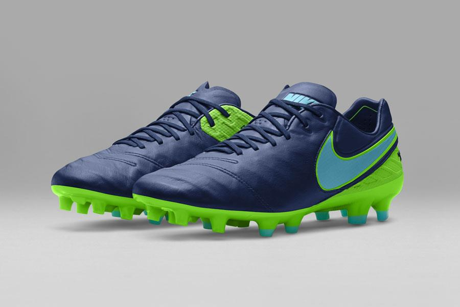 Nike Tiempo floodlight blue and green ()