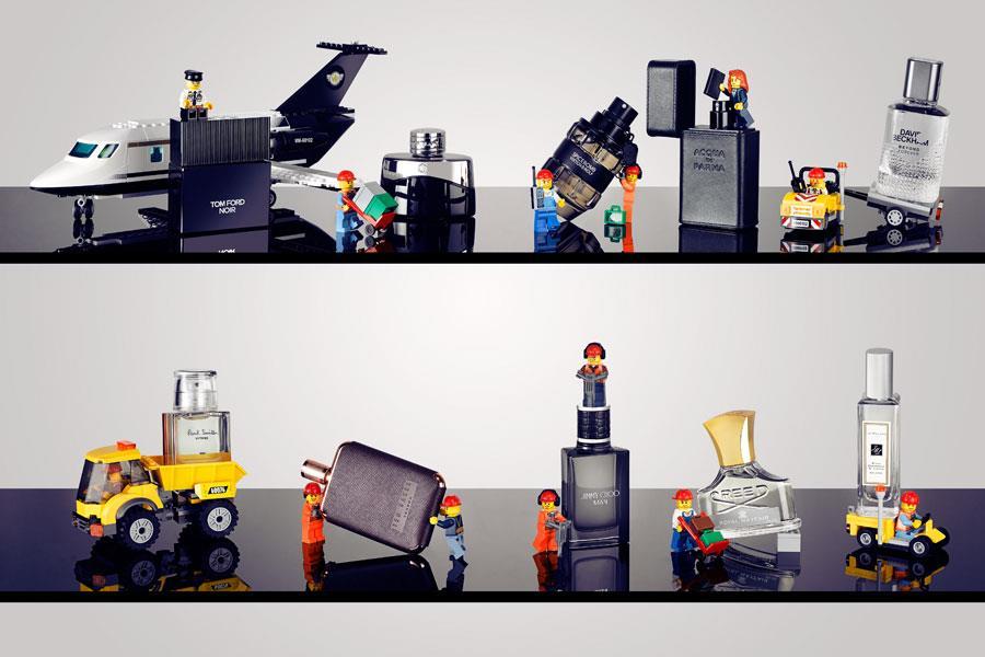 Lego minitures fragrances ()