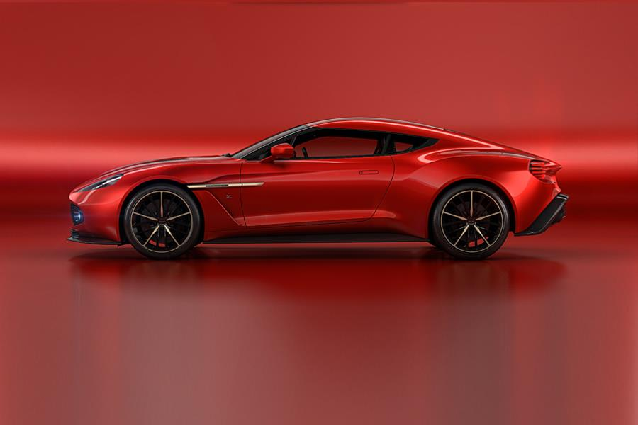 Aston Martin Vanquish Zagato concept side ()