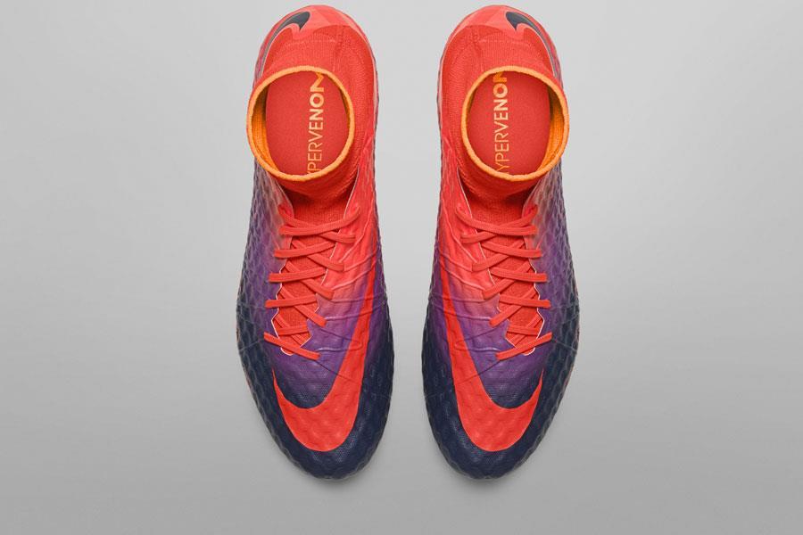Nike hypervenom floodlight orange purple ()