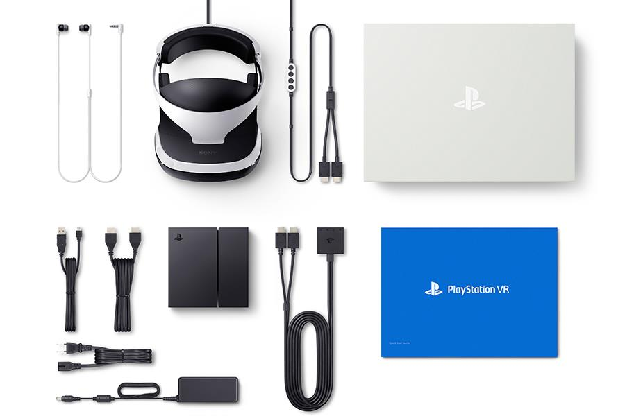 Playstation VR headset (Sony Computers Entertainment)