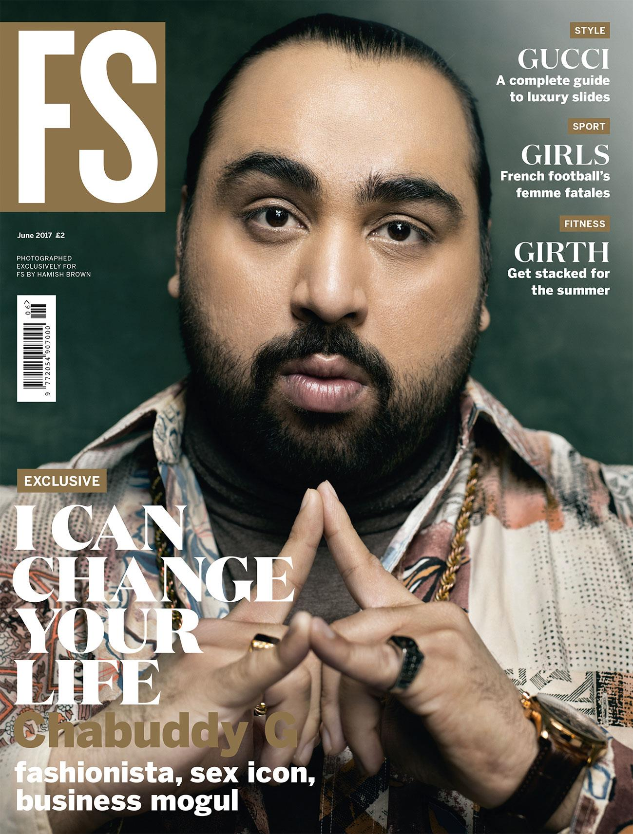 Chabuddy G on the cover of FS magazine June 2017 ()