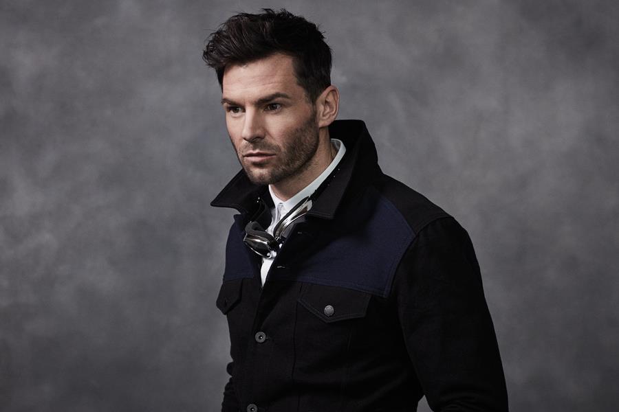 Gareth Seddon modelling a dark jacket ()