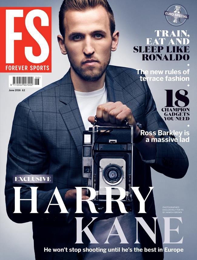 Harry Kane FS magazine cover ()