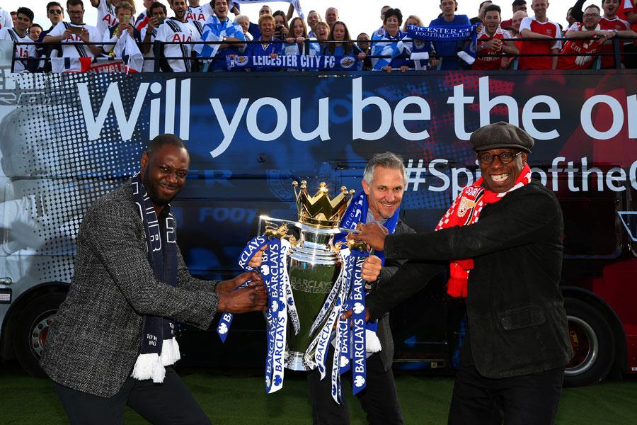 Gary Lineker, Ledley King and Ian Wright launch spirit of the game competition ()