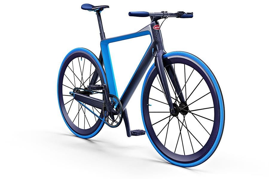PG Bugatti bike. The world's lightest urban bicycle ()