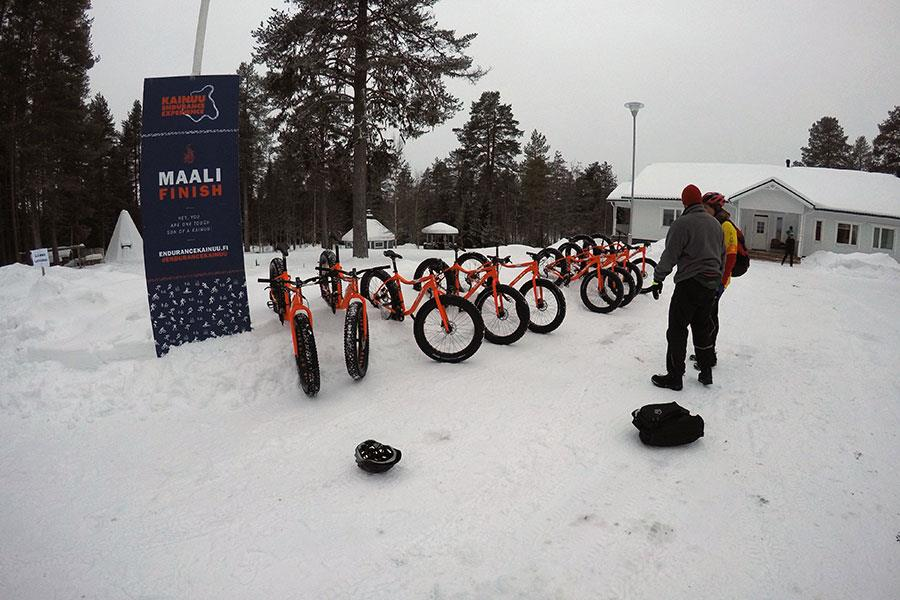 Maali Finish fat bikes in Finland ()