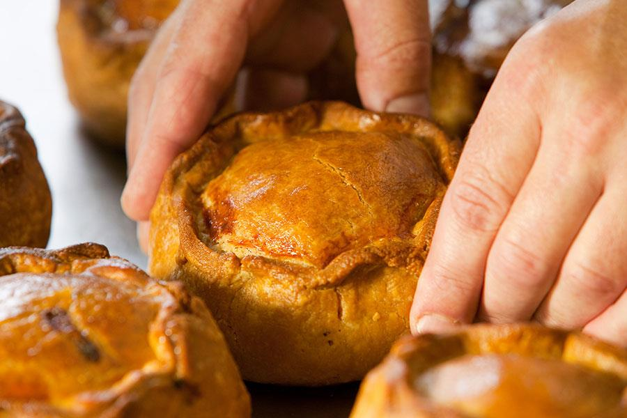 Melton Mowbray pork pie recipe (Melton Mowbray pork pie recipe)