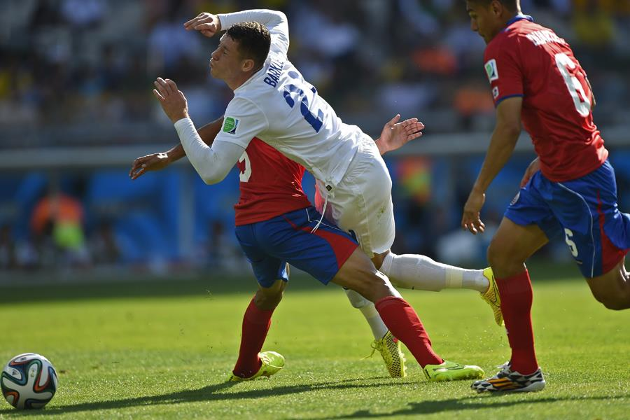 Ross Barkley England Costa Rica world cup ()