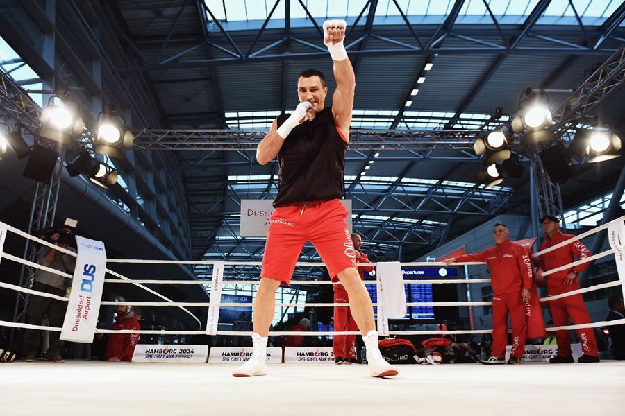 Wladimir Klitschko training ()