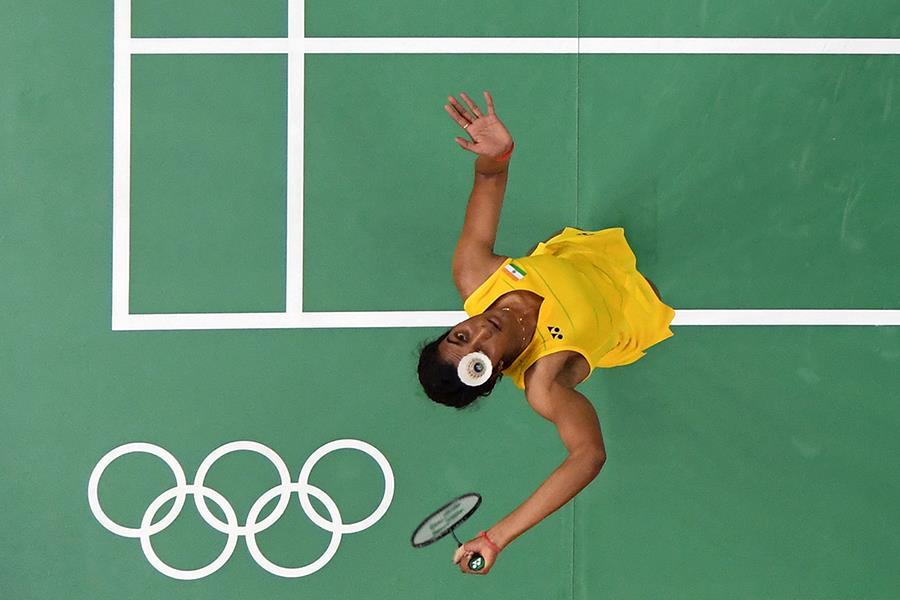 Pusarla Sindhu at Rio 2016 ()