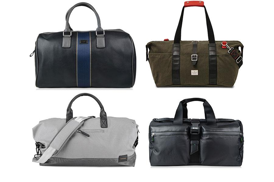 Holdalls: Boss green flannels, French connections, Nixon, Ted baker  ()
