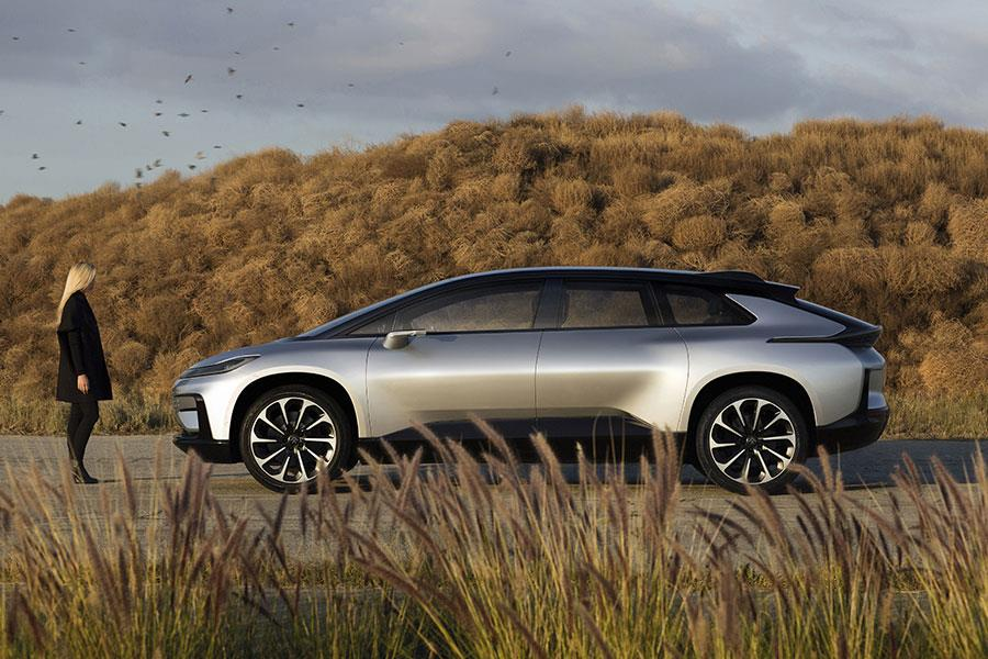 Faraday Future FF 91 profile ()