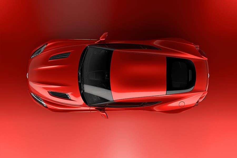 Aston Martin Vanquish Zagato concept top ()