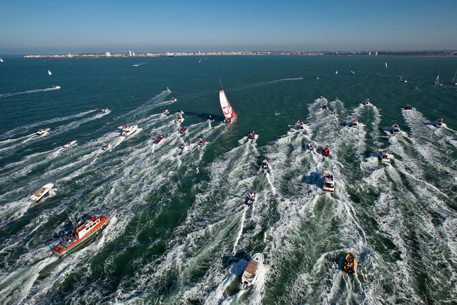 Vendée Globe sailing race, France  (Getty)