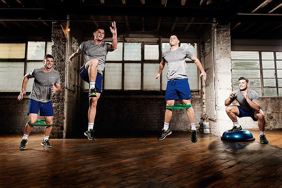 Ben davie workout FS magazine ()