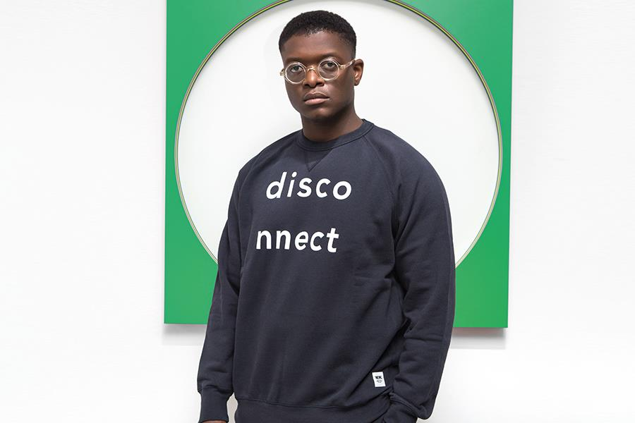Disconnect sweatshirt Wood Wood at flannels ()