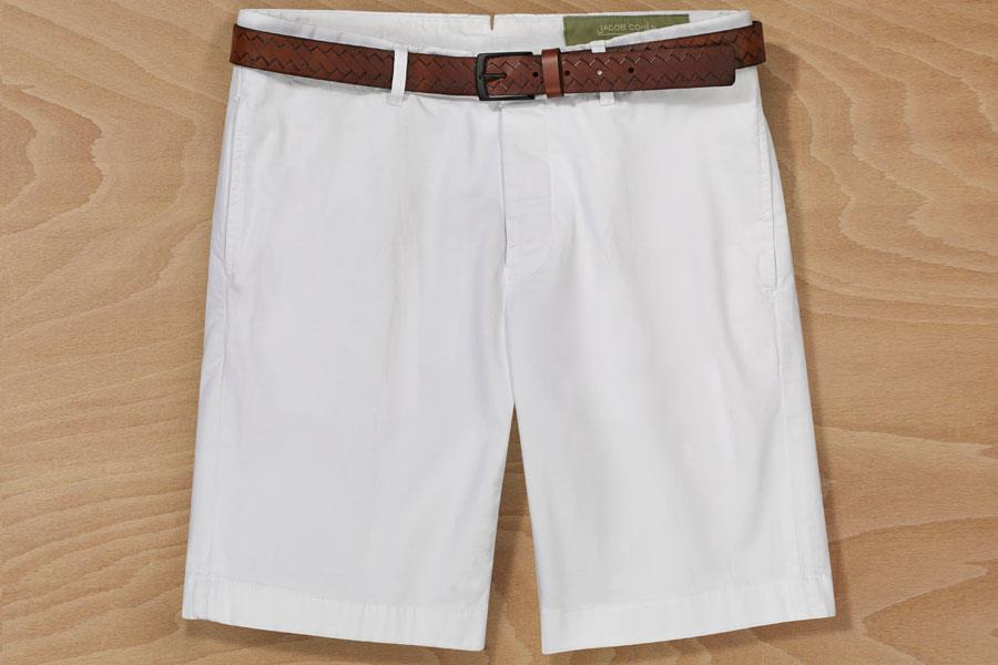 Jacob Coen shorts at Flannels, Massimo Dutti belt ()