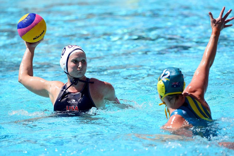 Kaleigh Gilchrist USA Water Polo throw ()