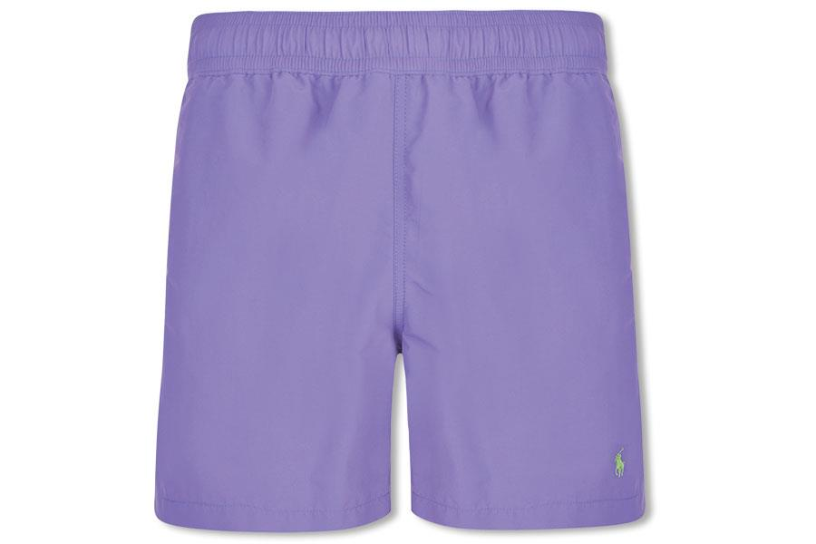 Purple Polo Ralph Lauren shorts at Flannels ()