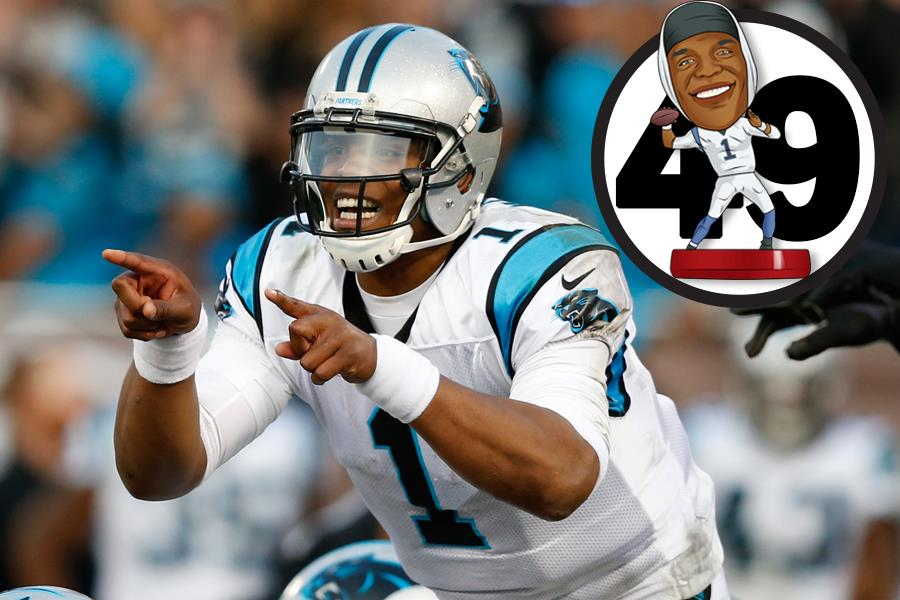 Cam Newton FS magazine's 50 greatest athletes 2016 ()