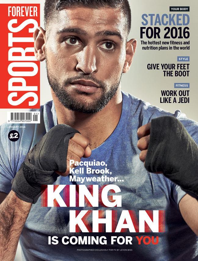 FS magazine cover January 2016 Amir Khan ()