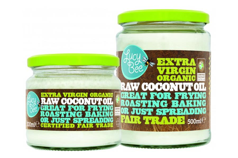 Lucy Bee coconut oil (PR Shot)