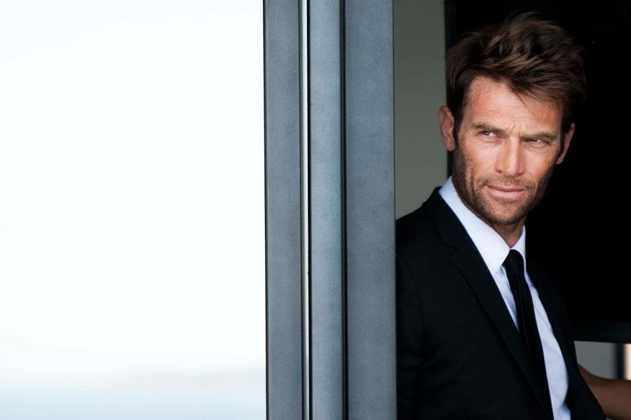 Simon Clark modelling shot ()